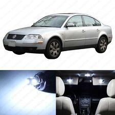 13 x Xenon White LED Interior Light Package For 1998 - 2005 VW Passat B5