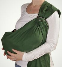 HANDMADE USA  Baby Wrap Ring Sling Maya Carrier Cotton U choose color Adjustable