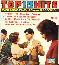 "DIVERS ""12 TOP HITS"" POP ROCK AND ROLL DOUBLE 50'S EP PROMENADE A-54-10"