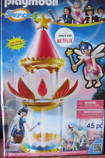 PLAYMOBIL Super 4 Musical Flower Tower with Twinkle Building Kit #6688 (45pc)