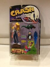 Crash Bandicoot Coco Action Figure Series 1 Resaurus New In Box 1998