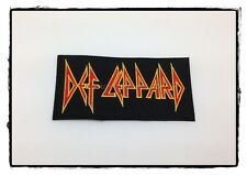Def Leppard Sew Iron On Patch Rock Band Music Heavy Metal Logo Badge Embroidered