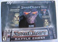 StarCraft: Battle Chest  (PC, 1999) Plastic Cases!
