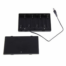 1x 8 AA Cells Battery 12V Clip Holder Box Case with ON/OFF Switch Wire Lead