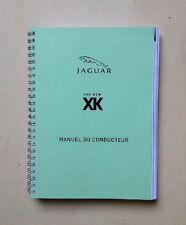 Manuel du conducteur JAGUAR XK8-XKR - X150 - 2007