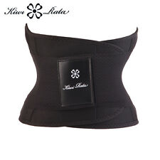 Body Shaper Waist Trainer Cincher Underbust Closure Black Waist Trimmer Corset