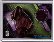 HEADLESS MONK'S ROBE 2016 Doctor Who Timeless Wardrobe Costume Relic BLUE #/99