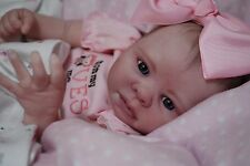 CUSTOM MADE PREEMIE Reborn ooak doll lifelike art ARTIST fake Baby vinyl KADENCE