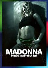MADONNA 2009 STICKY & SWEET EURO TOUR CONCERT PROGRAM BOOK / NEAR MINT 2 MINT
