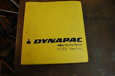 DYNAPAC CC42 Roller Compactor Operator Maintenance Service Repair Shop Manual