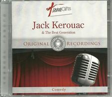 JACK KEROUAC & THE BEAT GENERATION COMEDY CD - ORIGINAL RECORDINGS