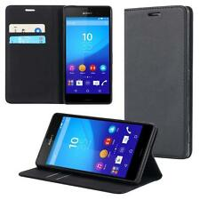 Sony Xperia Z1 compact mini Wallet Flip Case Cover Magnet Bag Bumper Pouch Shell
