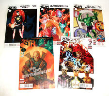 Marvel Comics ORIGINAL SIN 5 issue lot, Cable, Avengers, X men, Hulk etc