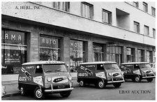 FIAT 600 Multipla 1963 Abarth racing exhaust publicity car Abarth factory –photo