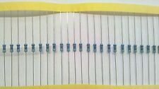20 x 470 ohm Resistors 1/4 Watt .25w Metal Film 1% tolerance Great for Leds USA