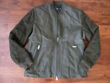 NWT $1095 VINCE LEATHER JACKET  SZ M