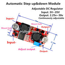 Automatic Mini Step up down Module 3.3v 5v 12v 24v DC Voltage Regulator F solar
