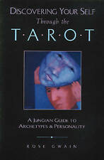 Discovering Your Self Through the Tarot: A Jungian Guide to Archetypes-ExLibrary