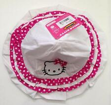 NWT HELLO KITTY by Sanrio Infant & Toddler Girls Bucket Hat Floppy Sun Cap *CUTE