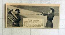 1953 Thelma Parsons Stretching Her Trombone Sheila Spiers Plays Bass Tuba