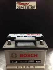 CAR BATTERY 065 12V MAINTENANCE FREE BOSCH SILVER S3004 3 YEAR GURANTEE