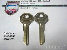 Key Blank for Vintage Chevorlet Pontiac Oldsmobile Buick Cadillac 1968  (H1098C)