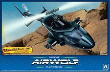 Aoshima 05590 1/48 scale Airwolf Limited Edition with Extra Clear Body