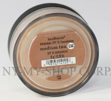 BARE MINERALS Foundation MEDIUM TAN C30 8G-XL id ESCENTUALS SPF15  Free SHIPPING