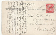 Genealogy Postcard - Family History - Suiter - Mortimer Street - London   BH5539