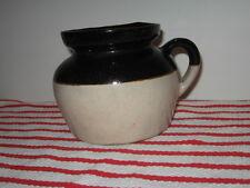 Antique Bean Pot Crock w Handle R. R. P. Co ROSEVILLE Robinson-Ransbottom No Lid