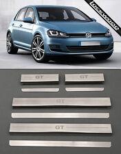 VW Golf Mk7 GT (Released 2013) 4 Door Sill Protectors / Kick plates