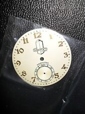 "Hamilton ""Packard"" 12 Size, Beautiful 2-Tone Pocket-Watch Dial, NOS... L@@K"