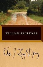As I Lay Dying: The Corrected Text by William Faulkner, Good Book