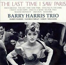 BARRY HARRIS TRIO-LAST TIME I SAW PARIS-JAPAN SACD J76