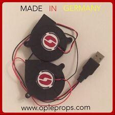 Belüftungsanlage OPLE Odin Doppellüfter USB Helme Masken Lüfter fan system Prop