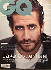 GQ Magazine ITALIA ITALY November 2016 Jake Gyllenhaal Mike Tyson NEW