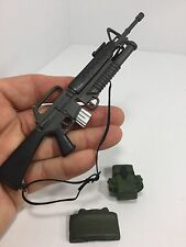 1/6 US ARMY M-16 40mm GRENADE LAUNCHER CLAYMORE GIJOE VIETNAM DRAGON DID BBI