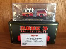 Code 3 Collectibles 1/64 FDNY Seagrave Engine 58