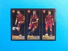 PANINI FIFA 365 - R73-R74-R75 CASTAN KEITA DE ROSSI - ROMA