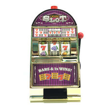 New Arrival Casino Jackpot Fruit Slot Machine Coin Saving Bank Moneybox Game Toy