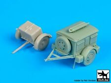Black Dog 1/72 German Sd.Ah.32 Ammo & Sd.Ah.24 Generator Trailer Set WWII T72086