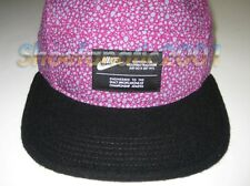 Nike 5 Panel Sample Speckled w/ Felt Wool bill Digi Camo Black Purple NSW Safari