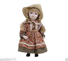 Muñeca Porcelana 30 cms con soporte. MELISSA - BAM011