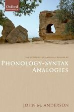 The Substance of Language Vol. III : Phonology-Syntax Analogies by John M....