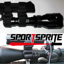 Rifle Scope Clamp Mount for SureFire Streamlight Nitecore XTAR Flashlight
