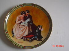 Knowles American Fine China A COUPLE'S COMMITMENT By Norman Rockwell
