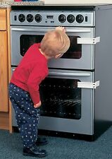 CLIPPASAFE MICROWAVE / OVEN LOCK CHILD SAFETY 2 KEEP FROM HOT SURFACE & ITEMS