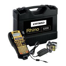 DYMO S0841400 RHINO 5200 INDUSTRIAL LABELLING MACHINE KIT IN CASE LABEL PRINTER