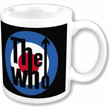 NEW THE WHO TARGET LOGO MUG RETRO ROUNDEL COFFEE CUP GIFT DALTREY MOD MUSIC