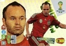 2014 Panini Adrenalyn World Cup EXCLUSIVE Andres Iniesta Limited Edition MINT